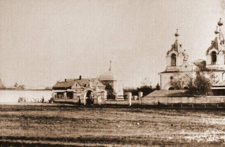 Всесвятская кладбищенская церковь. 1909 год.